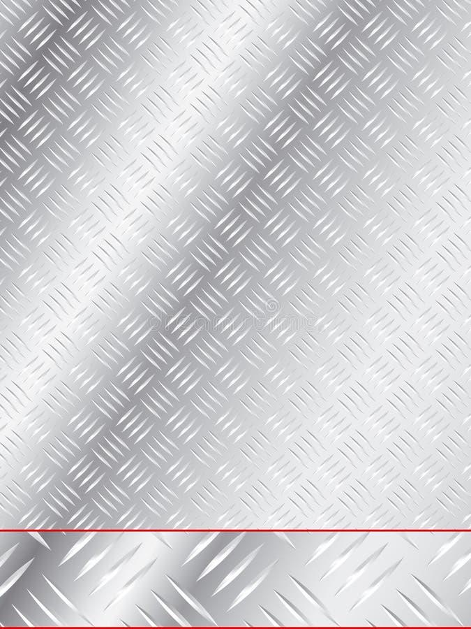Protection en aluminium d'étage illustration libre de droits