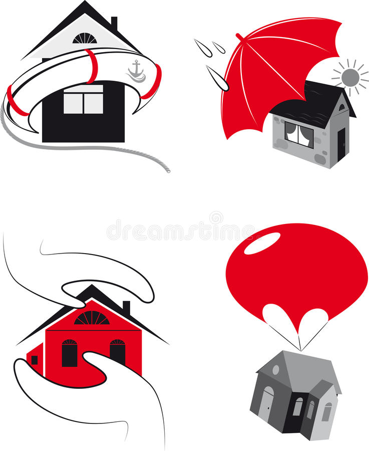 Download Protection Of The Real Estate Stock Image - Image: 33301717