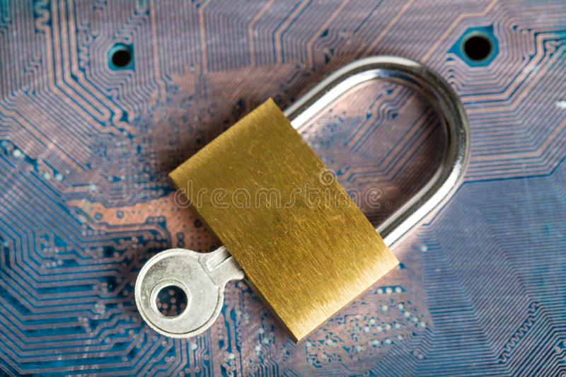 Protection your system. From hacker information data stock photos