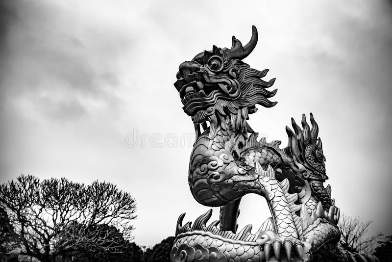 protective dragon royalty free stock images