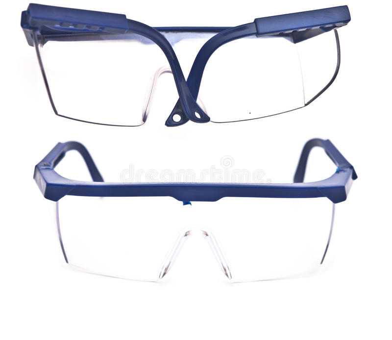 Protective Eyeglasses Stock Photo