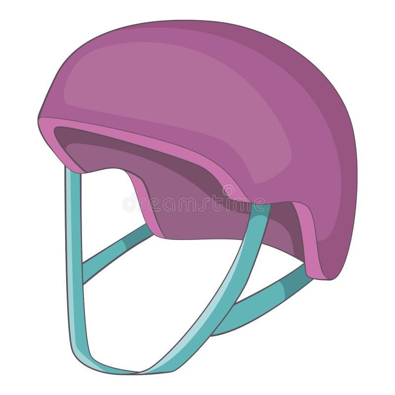 Protective helmet icon, cartoon style. Protective helmet icon. Cartoon illustration of protective helmet vector icon for web design vector illustration