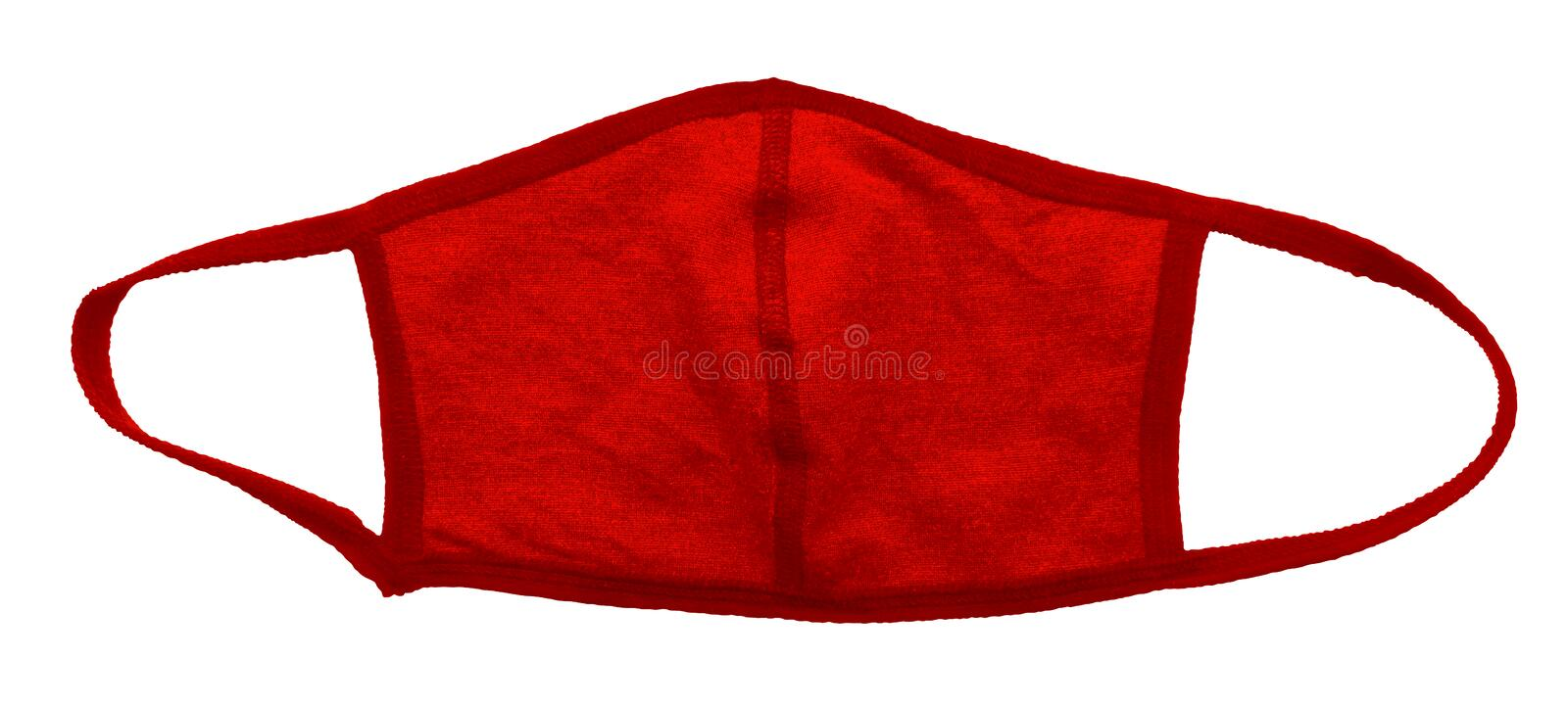 Protective mask - red stock photo