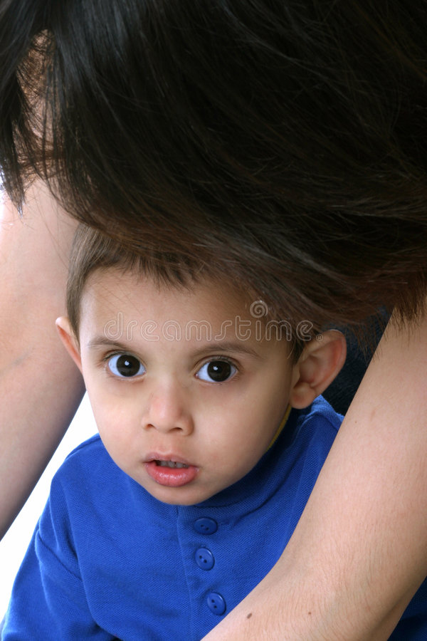 Download Protective Mom stock photo. Image of mexican, child, mother - 80212
