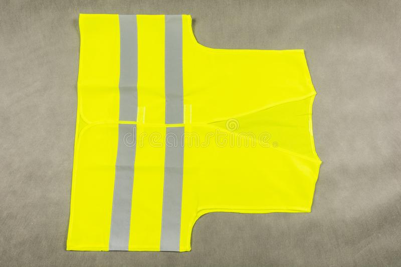 Protective reflective vest. stock images