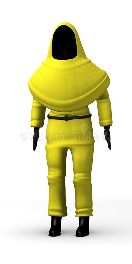 Protective Suit Royalty Free Stock Image