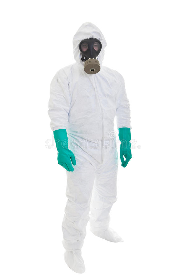 Protective suit royalty free stock photo