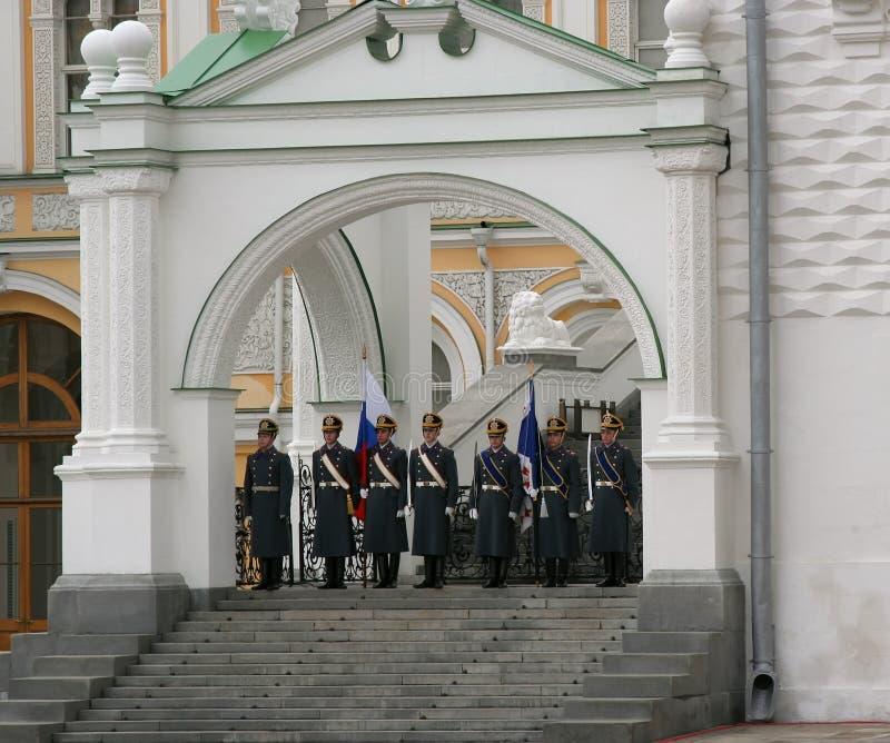 Protector de la Moscú Kremlin-4 fotos de archivo