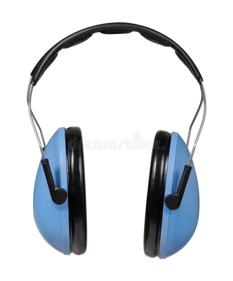 Protector de oído fotografía de archivo libre de regalías