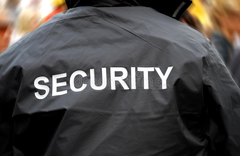 Protector de seguridad fotos de archivo