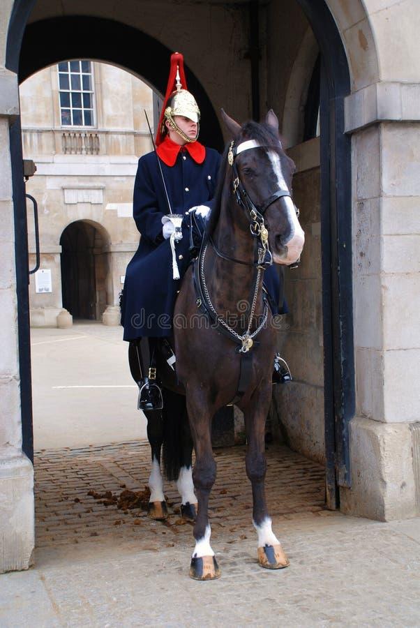 Protectores de caballo, Londres imagen de archivo