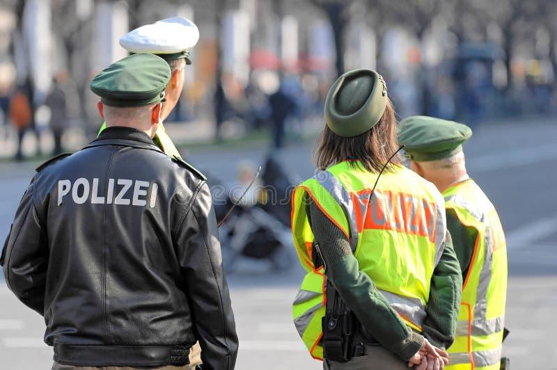 Protectores de la policía imagen de archivo libre de regalías