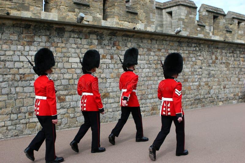 Protectores escoceses foto de archivo