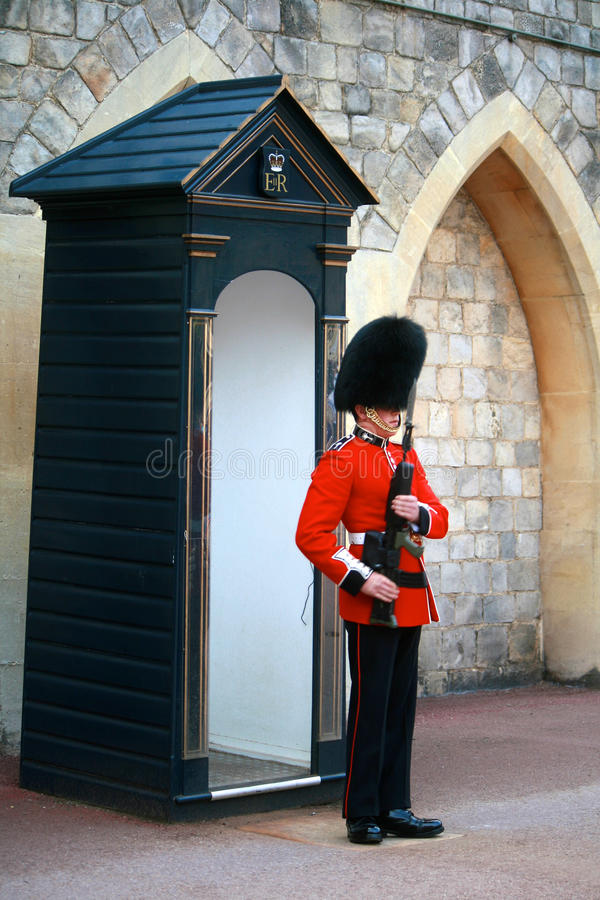 Protectores reales de Londres fotos de archivo libres de regalías