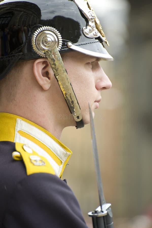 Protectores reales de Suecia foto de archivo libre de regalías
