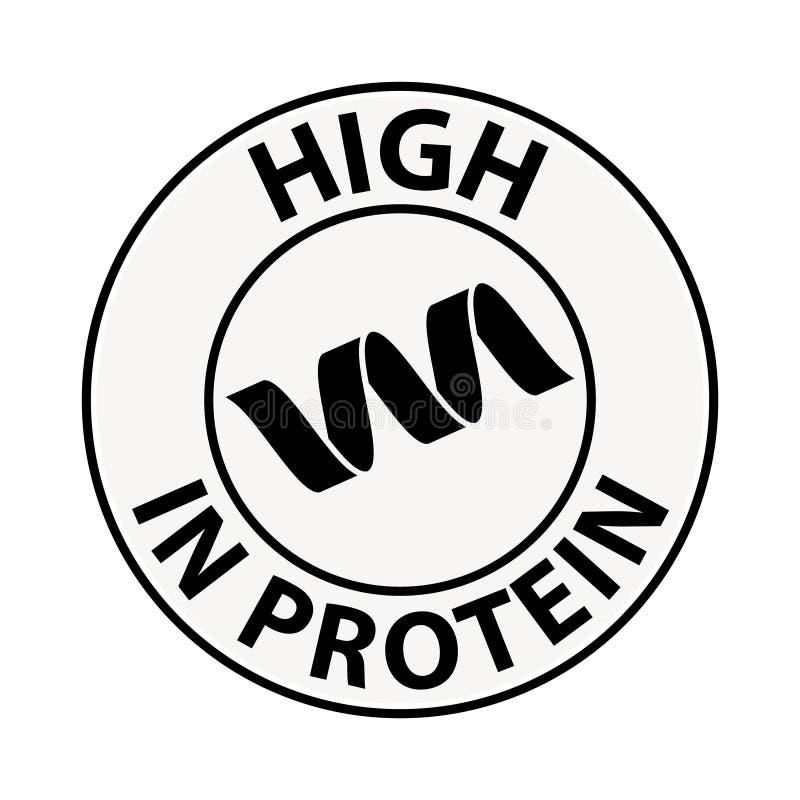 Protein icon, illustration vector illustration