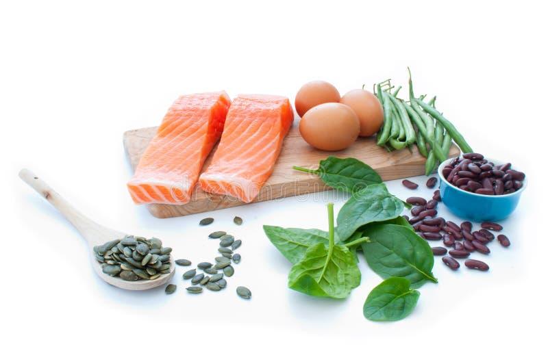 Proteinsuperfood bantar royaltyfri fotografi