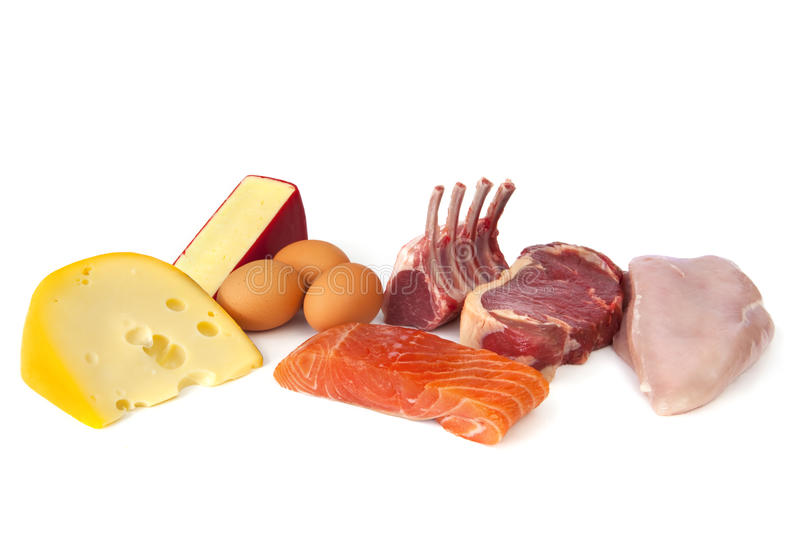 Protein Rich Foods stock photos