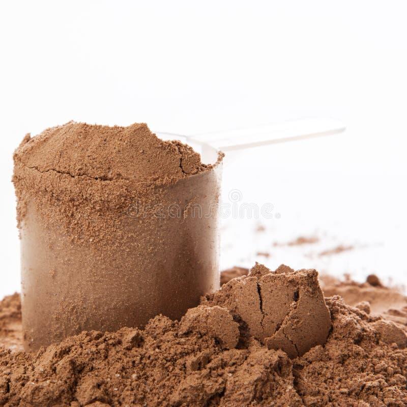 Proteina proszek zdjęcie stock