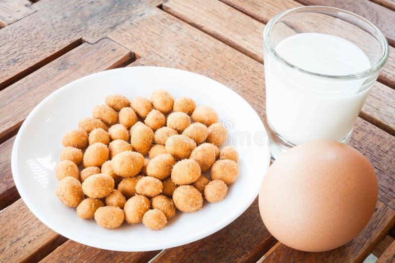 Proteinowe odżywki fotografia stock