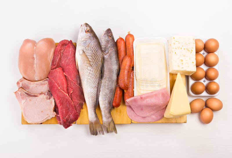 Proteins royalty free stock photography