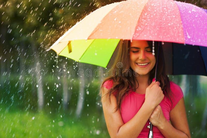 Proteja contra la lluvia imagen de archivo libre de regalías