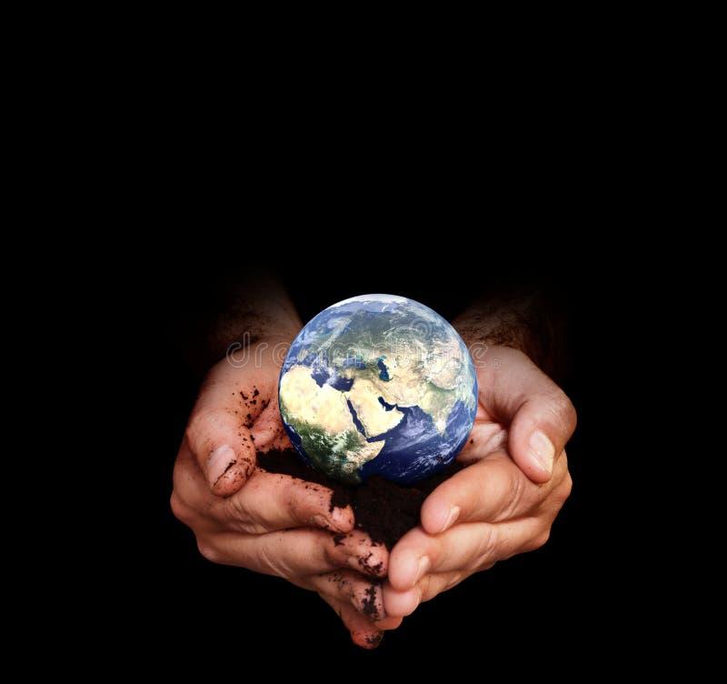 Proteja el mundo fotos de archivo libres de regalías