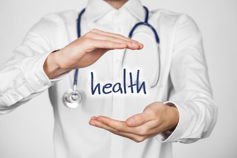 Proteja a saúde imagem de stock