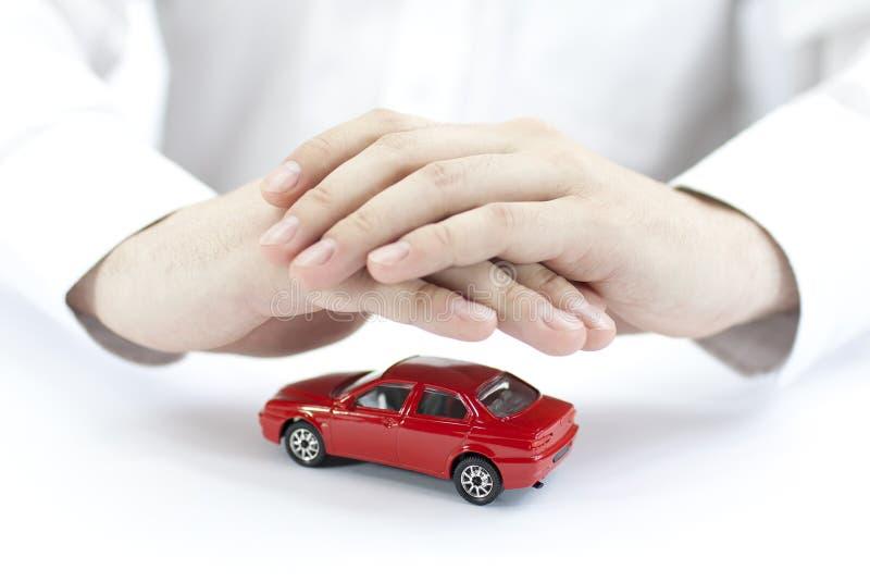 Proteja su coche fotografía de archivo libre de regalías