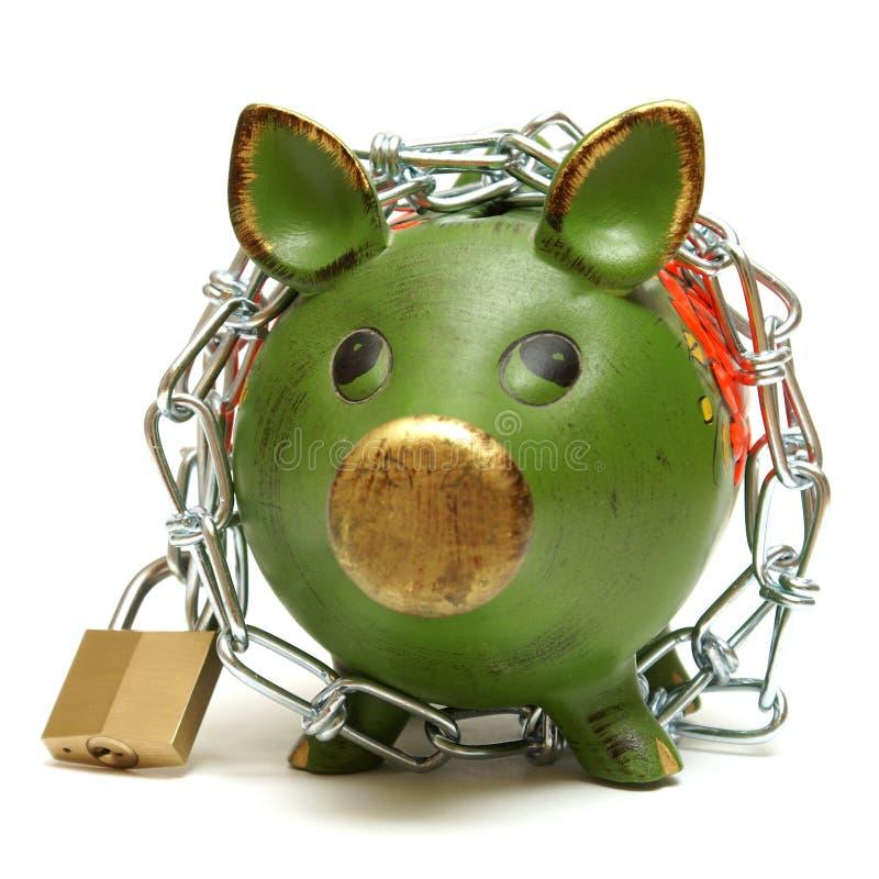 Proteja su dinero fotografía de archivo libre de regalías
