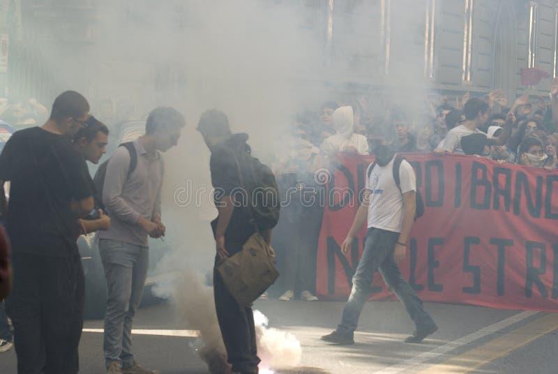 protest arkivfoto