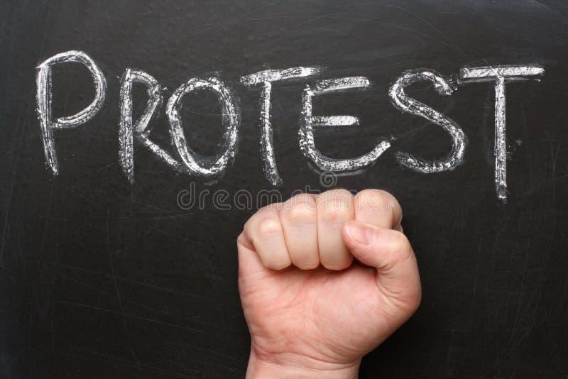 Protest lizenzfreie stockfotografie