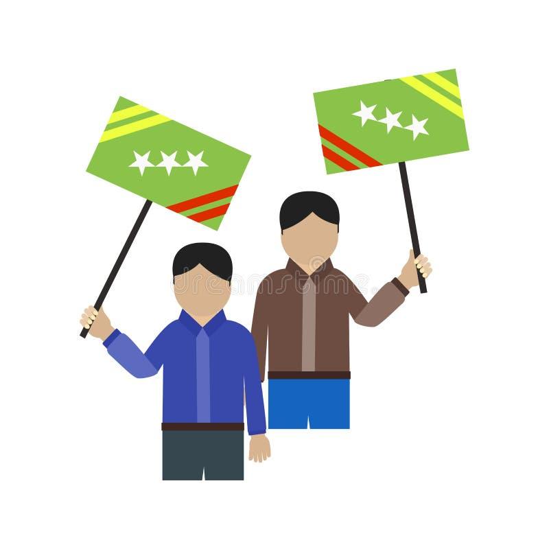 protest vektor illustrationer
