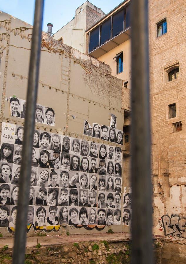 Protest av folket arkivbilder