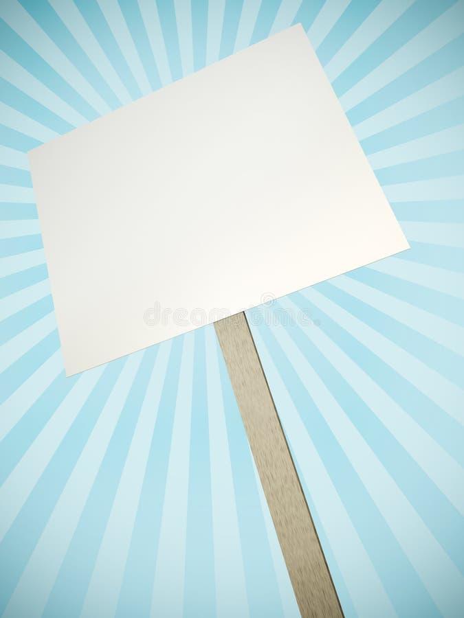 Download Protest banner stock illustration. Image of render, blank - 25269248