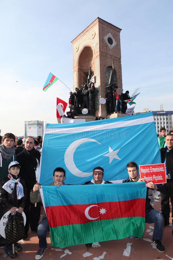 Download Protest Khojaly Massacre editorial photography. Image of azerbaijan - 23559037