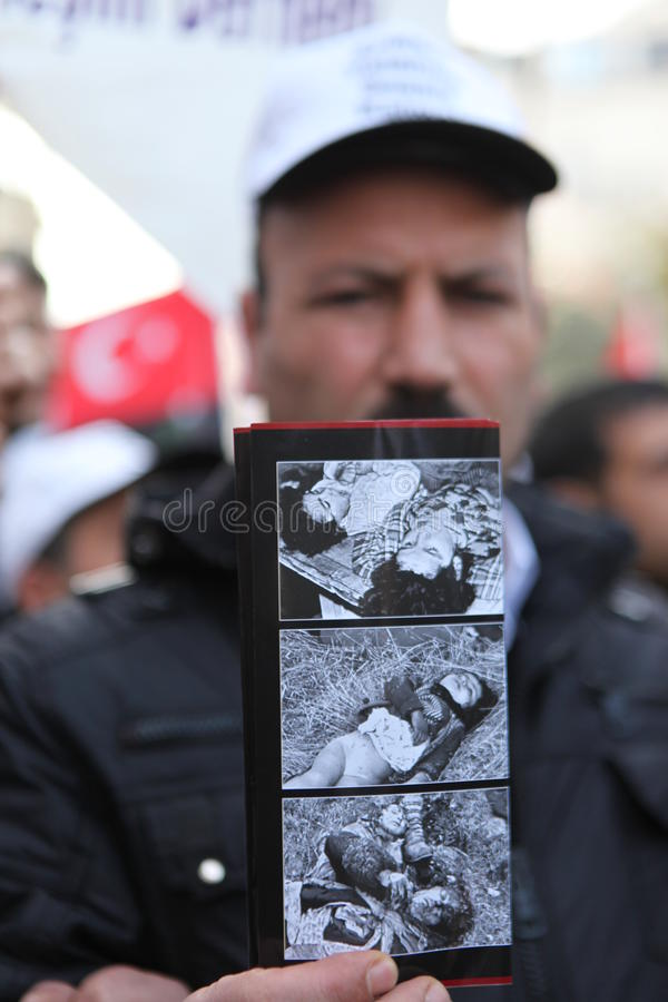 Download Protest Khojaly Massacre editorial stock image. Image of square - 23559274