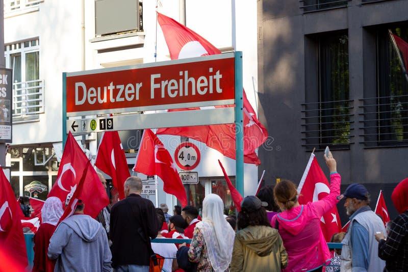 Demo Köln Deutz