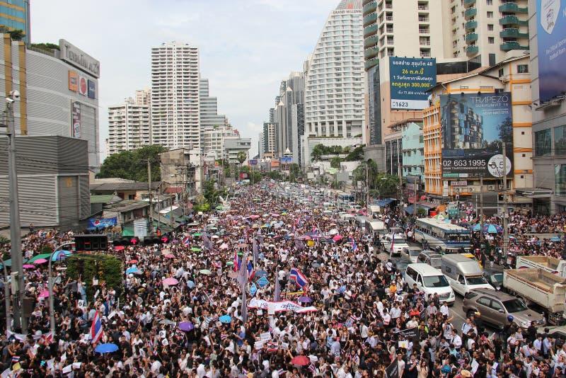 Protesta contra la amnistía Bill fotografía de archivo