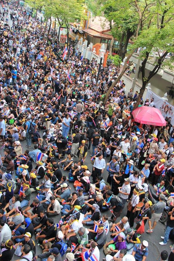 Protesta contra la amnistía Bill imagen de archivo