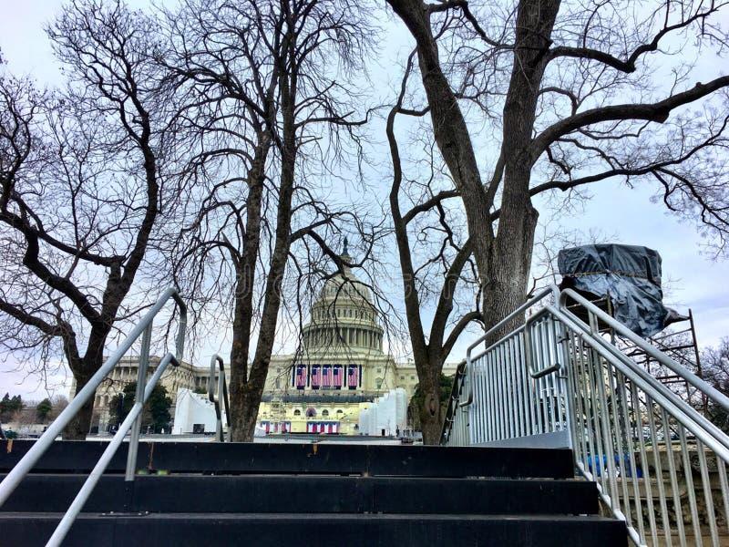 protesta en Capitol Hill imágenes de archivo libres de regalías