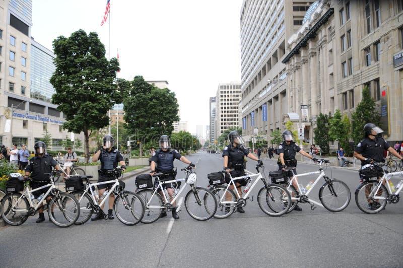 Protesta en Toronto. foto de archivo libre de regalías