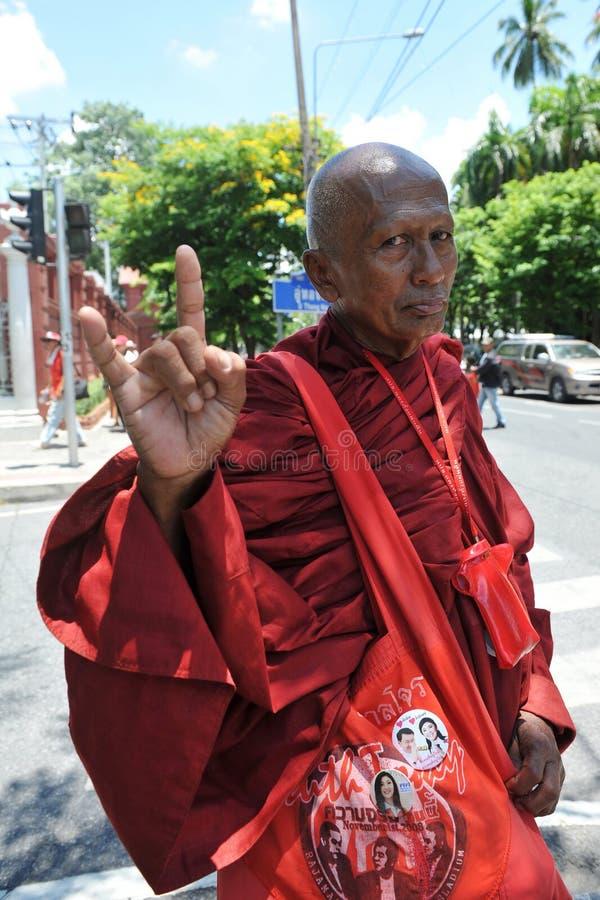 Protesta rossa della camicia immagini stock libere da diritti