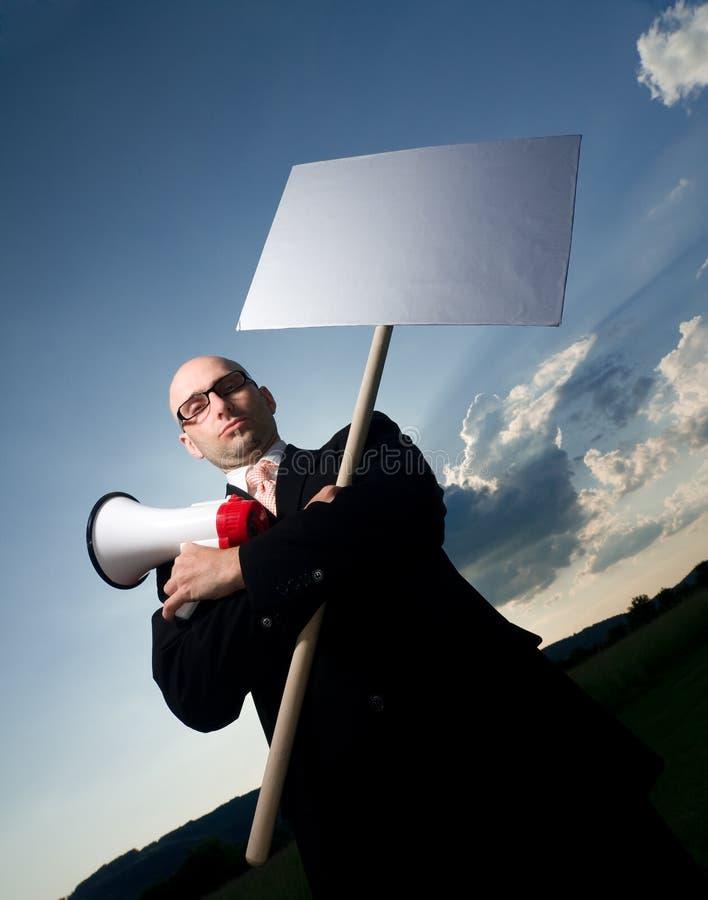 Protestador imagens de stock royalty free