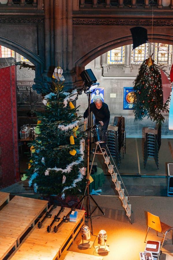 ` Protestant s de St Stephen de cathédrale d'église de Saint-Étienne de temple photographie stock libre de droits