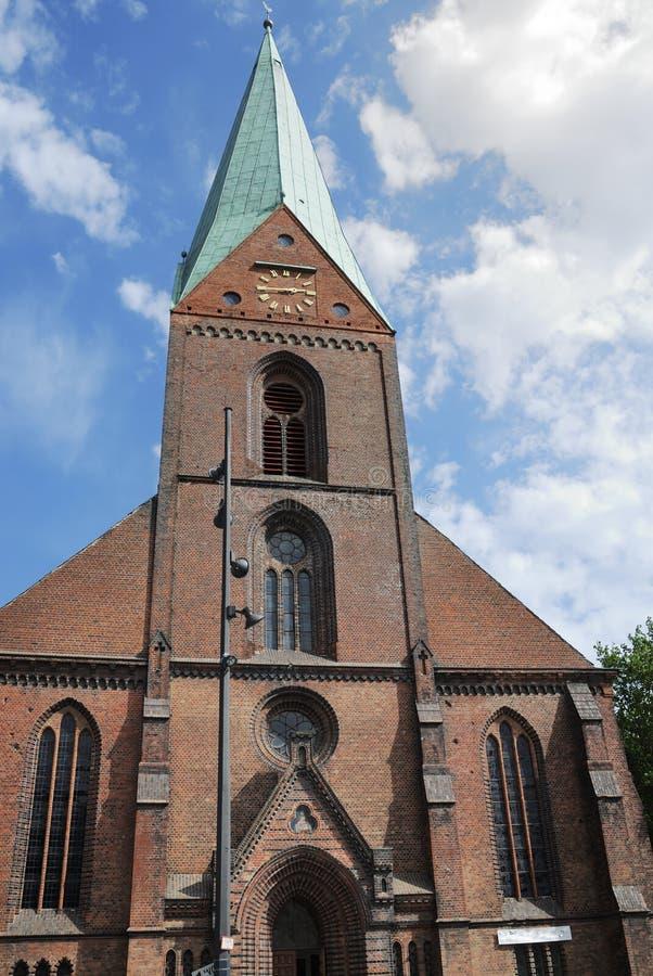 Protestantische Kirche stockbilder
