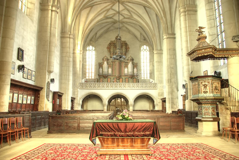 Protestantse kerk stock afbeeldingen