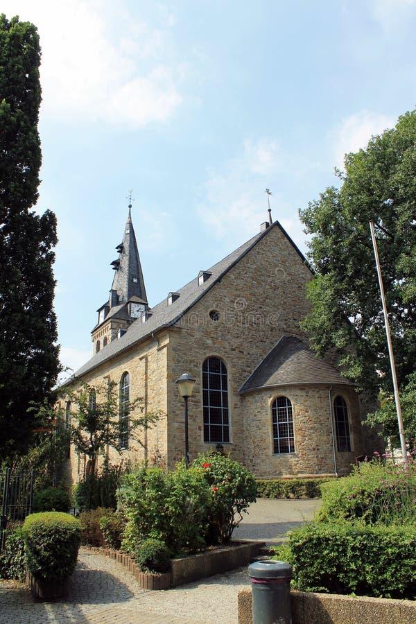 Protestantse kerk van Kettwig royalty-vrije stock foto