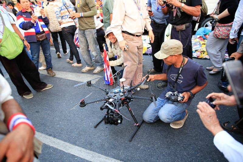 Protestateurs photographie stock libre de droits