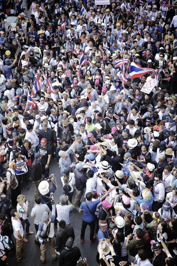 Protestateurs image libre de droits
